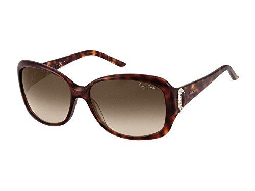 Pierre Cardin Damen P.C. 8353/S SH 08E 59 Sonnenbrille, Braun (Tortoise/Brown Sf)