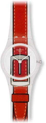 Swatch Femme Montre bracelet Feel My Soul à quartz analogique Plastique lk330