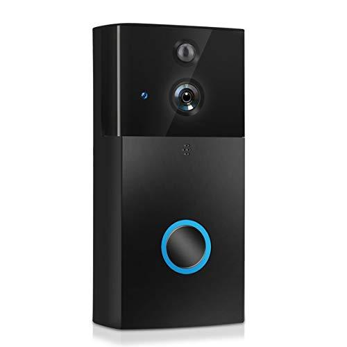Preisvergleich Produktbild Video Türklingel Drahtlose Gegensprechanlage WIFI Türklingel CMOS-Sensor IR-CUT PIR-Sensor Wohnungen Home Security Türklingel