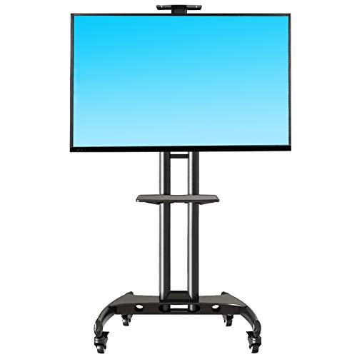 """NB North Bayou 32""""-65"""" Höhenverstellung Fernsehständer für Flachbildschirme mit Rollen Universal TV Ständer LED LCD Fernseher Standfuß Fernseh Möbel Standfuß"""