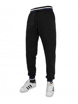 Pantalone BASIC Tuta con Polsini Uomo Basic Sport Palestra Fitness