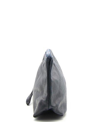 Venta Barata 100% Auténtico Toma De La Fábrica Precio Barato histoireDaccessoires - Pochette Pelle Donna - PM093821V-OE-Cesar Blu marino 2018 Barato Más Reciente zS2MTMq