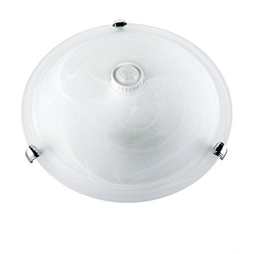 Preisvergleich Produktbild Maclean MCE22 Deckenleuchte Bewegungsmelder Plafond Infrarot Led weiß