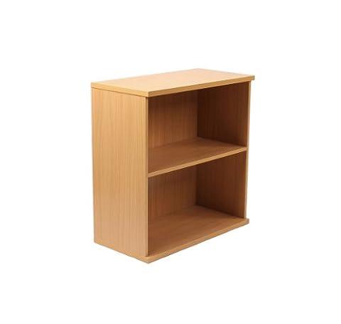 Newbury 25 Two Shelf Open Bookcase 1790/25 in Oak