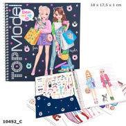 Depesche 10452 Libro Adesivo TOPModel Dress Me Up Multicolore