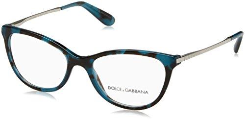 Dolce   Gabbana 0Dg3258, Monturas de Gafas para Mujer, Petroleum Cube, ... 872c03fa73