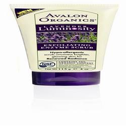 (6er BUNDLE) | Avalon Organics Lavender Peeling Enzyme Scrub 4 fl. Unze. Advanced Care f-r empfindliche Haut 213850 | 100ml - Avalon (Avalon-peeling)