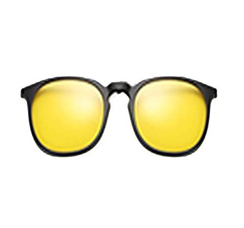 OULN1Y Sport Sonnenbrillen,Vintage Sonnenbrillen,5 In 1 Multi-Clip Ultra-Light Clip On Sunglass Women Round Sunglases Eyewear Sun Glasses