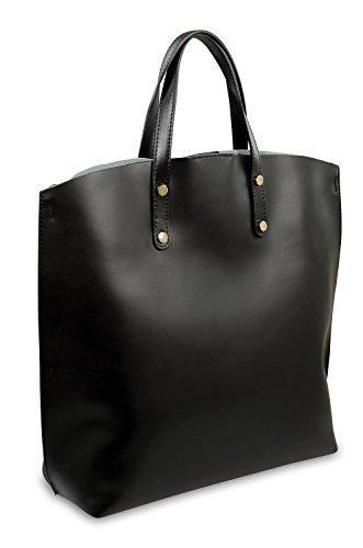 IO.IO.MIO Borsetta per le Icone® , Sacs portés main femme 3 farbig (braun schwarz weiß)
