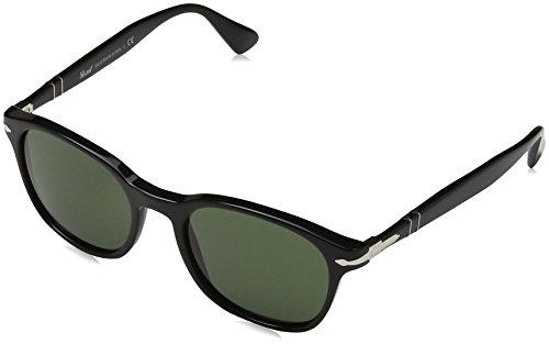 persol-unisex-sonnenbrille-0po3150s-schwarz-gestell-schwarz-glaser-grun-95-31-medium-herstellergross