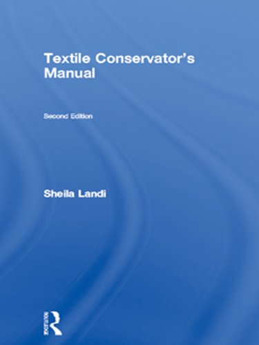 Textile Conservator's Manual (Butterworth-Heinemann Series in Conservation and Museology) (English Edition) por Sheila Landi