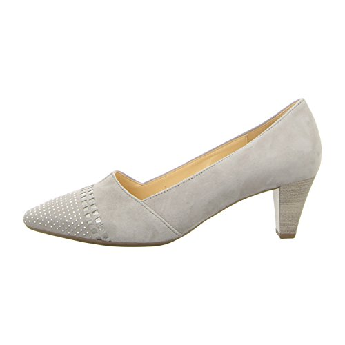 Gabor Damen Fashion Pumps Hell-Grau