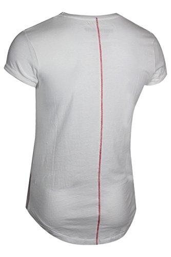 trueprodigy Casual Herren Marken T-Shirt mit Aufdruck, Oberteil cool und stylisch mit Rundhals (kurzarm & Slim Fit), Shirt für Männer bedruckt Farbe: Weiß 1072148-2000 White