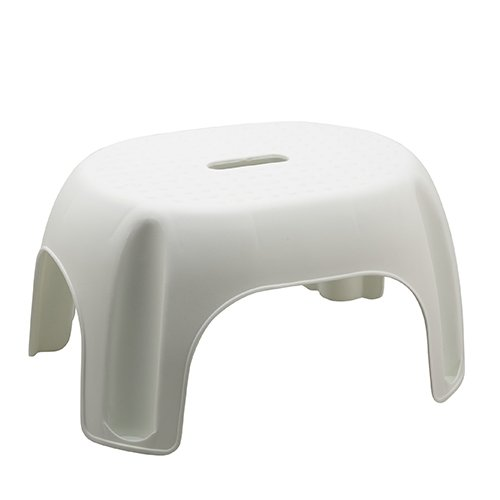 Bluewater Aqua Bath Stool, White