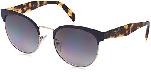 Prada Damen 0PR61TS VH85W1 54 Sonnenbrille, Blau (Bluette/Pale Gold/Polargrey),
