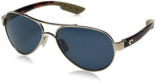 Costa Loreto Metal Frame Grey Lens Unisex Sunglasses LR64OGP
