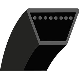 3LK28 : Courroie lisse trapézoïdale pour Divers AS-MOTOR Modèle AS21 - Section 3/8'' (9.5 mm) - 9.53x6 mm - Longueur extérieure: 28