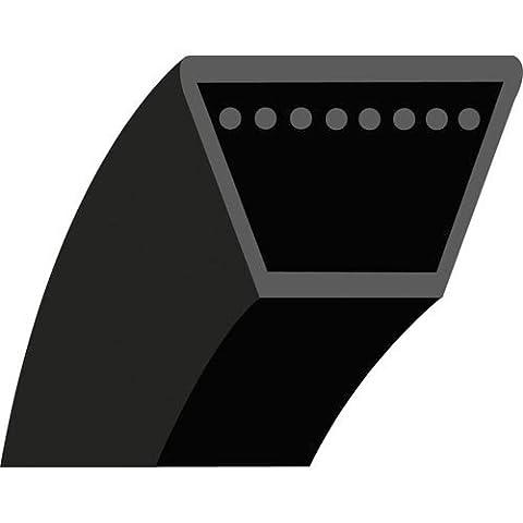 4LK36 : Courroie lisse trapézoïdale pour Tondeuses autoportées STIGA Modèle Park HST (1990 à 93), Park tondeuse à fléaux - Park Pro 16 - 18 & 20 (2000) - Park Diesel (2002) - Section 1/2'' (12.7 mm) - 12.7x8 mm - Longueur extérieure: 36