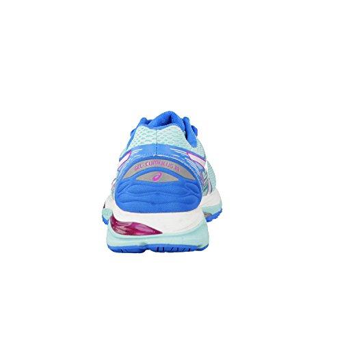 Asics Damen Gel-Cumulus 18 Laufschuhe Aqua Splash/White/Pink Glow