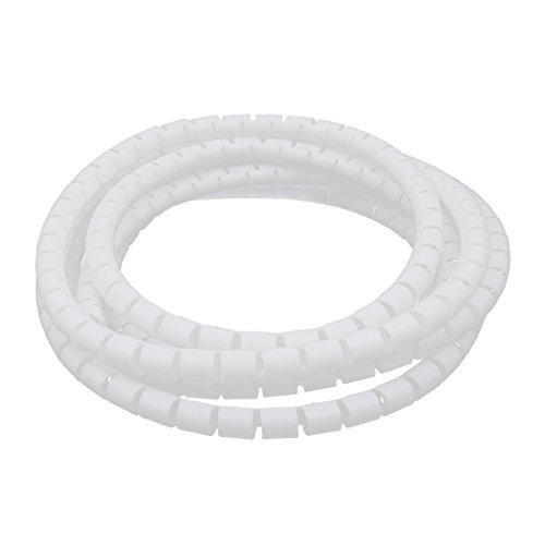 Sourcingmap/® 10P Barri/ère Double Rang/ée Couverte bornier /à vis Blanc