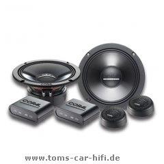 Coral Electronic MK 165rund XLR 240W Auto-Lautsprecher–KFZ-Lautsprecher (XLR, 240W, 120W, 4Ohm, 92dB, Schalltechnologie: 31.000HZ)