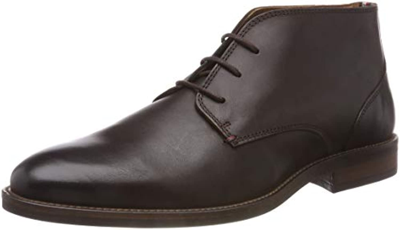 Tommy Hilfiger Essential Leather avvio, Scarpe Stringate Derby Uomo | Rifornimento Sufficiente  | Scolaro/Ragazze Scarpa