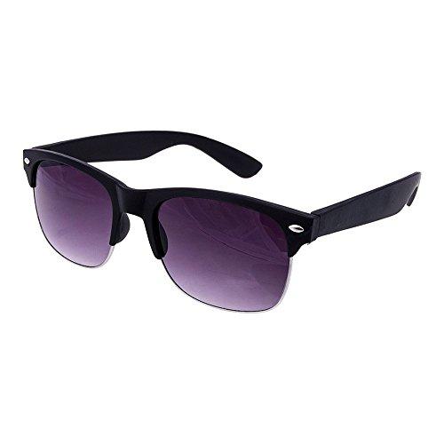 Vivienfang - Lunettes de soleil - Homme Purple Frame Light Purple Mirror uiNR1RxmoQ