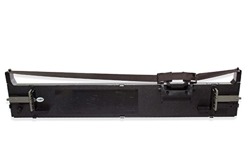vhbw Farbband Nylonband Tintenband für Nadeldrucker Epson LQ-680, LQ-680K, LQ-690, LQ-690K, LQ680, LQ680K-II, LQ690 wie C13S015610, S015610.