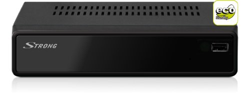 Strong PrimaSat II Digitaler Satelliten-Receiver (DVB-S, 1x SCART-Anschluss, USB, SAT IN) schwarz