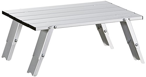 Uquip Faltbarer Aluminium Tisch Handy - Verstellbar in 2 Höhen (11/16cm)