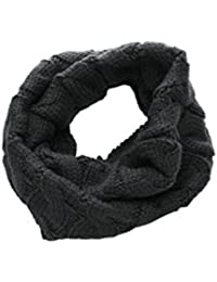 sourcingmap® Men Knitting Winter Warmer Casual Thick Tube Scarf