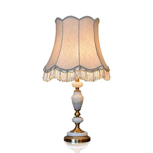 Hotel LampStudentye Household Table Table LampDecoration Protection Table Classical Lamp, Lighting Marble Desk Lamp Hotel Bedside Simple ZLL Home SVpzMU