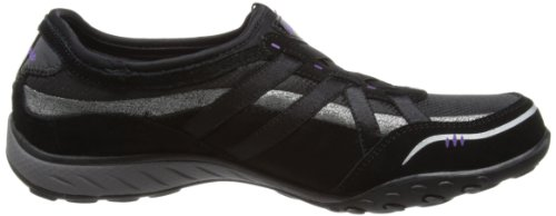 Skechers  Breathe-Easy,  Sneaker donna Nero (Schwarz (BKSL))