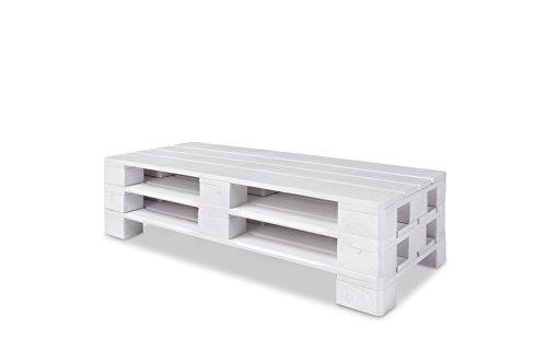 lowboard tv board wei lackiert paletten m bel smash. Black Bedroom Furniture Sets. Home Design Ideas