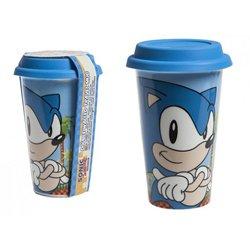 PMS Classic Sonic The Hedgehog Ceramic Travel Mug