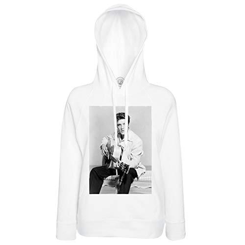 Männer Hoodies Sweat-Shirt Hoody Foto von Star Berühmte Sänger Elvis Presley Alte Musik Original 7 - Elvis Hoodie