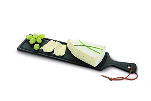 Boska 359021 Planche à Fromage/Tapas Céramique Noir