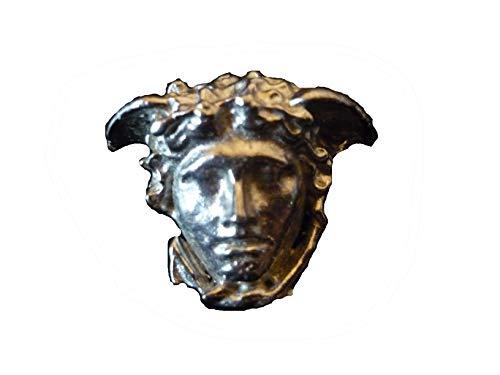 GIFTSFORALL Derbyshire UK Anstecknadel griechischer Gott 3 x 2,5 cm aus massivem englischem Zinn