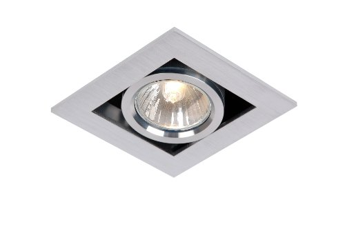 Lucide 28900/01/12 - Producto de iluminación descendente de interior, color cromo mate