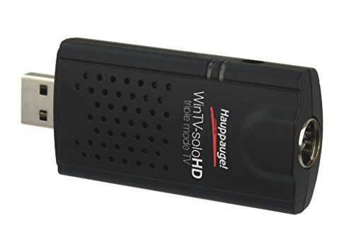 dvb c usb Hauppauge Fernsehen-Tuner Win TV Solo-HD USB 2.0 Stick DVB-C/T/T2 Receiver