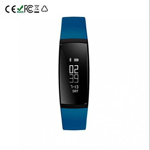 Fitness Armbanduhr,Fitness Tracker mit Pulsuhr mit Schrittzähler /lange Akkulaufzeit /Schlafaufzeichnung / Wecker Aktivitäten Fitness Tracker kompatibel mit iPhone Android Handy