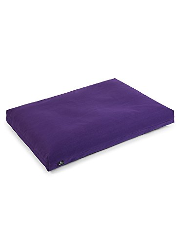 Yoga Studio Zabuton cojín de meditación (púrpura)