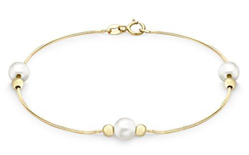 (Carissima Gold Damen - Armband 375 Rundschliff Diamant 1.21.2852)