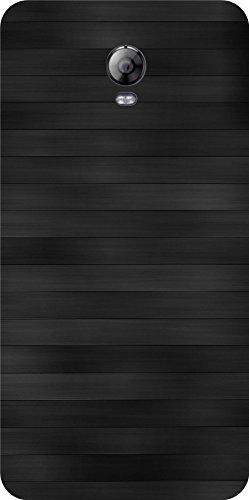Shengshou Pattern Design Mobile Back Cover for Lenovo Vibe P1 Turbo - Black Grey