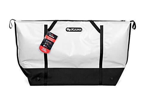 Kuuma 50184 Isoliertasche mit Abflussstopfen hält Kälte und bewahrt die Frische Ihres Fangs, ideal für Angeln, Camping, Bootfahren, Wandern und mehr.
