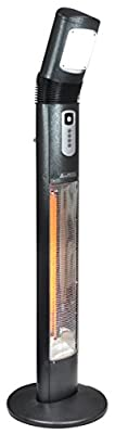 "Prem-i-Air ""Sol Rey"" 3kW Carbon Fibre Electric Patio Heater with Remote control"
