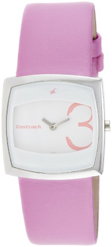 Fastrack Economy Analog White Dial Women's Watch - NE6013SL01 image