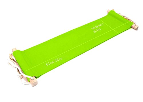 Büro Fußablage Schreibtisch Hängematte Fuß Hängematte Verstellbar Grün Hängesessel