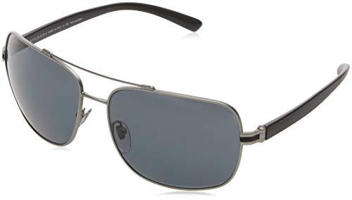 Bulgari Herren 0BV5038 195/81 63 Sonnenbrille, Grau (Matte Gunmetal/Polargrey)