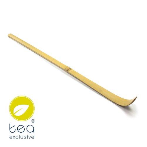 """tea exclusive – Original Matcha-Bambuslöffel""""Chashaku"""" (unentbehrlich für die Zubereitung von Matcha-Tee)"""